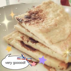 早餐-牛奶鸡蛋煎饼
