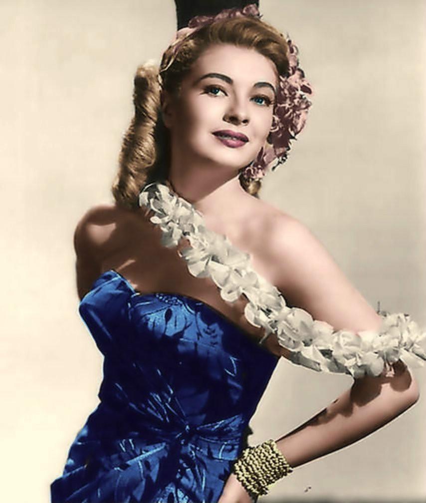 美国好莱坞50年代美女明星洛丽・纳尔逊