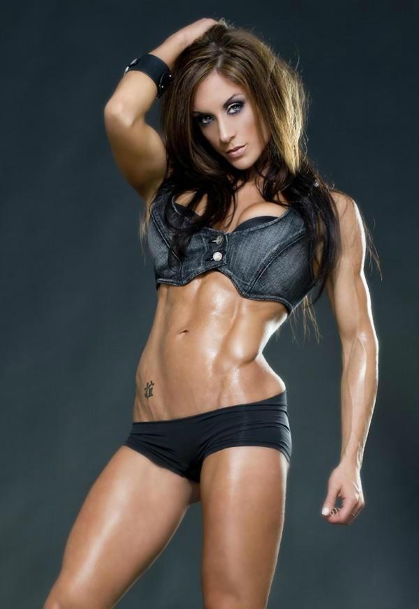 肌肉美女的魅力