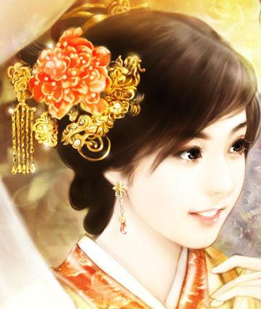 古代美女丹青 28张