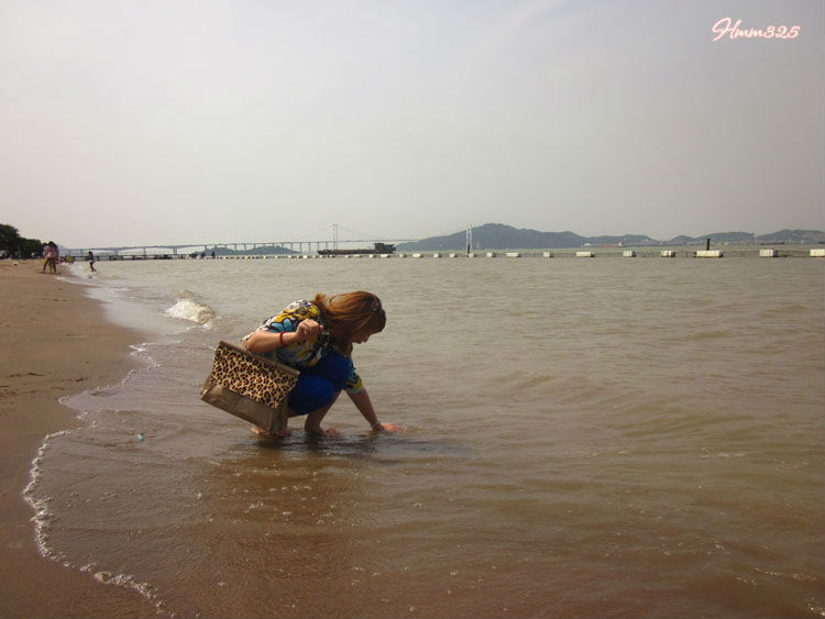 广州南沙天后宫沙滩   广州南沙天后宫   游记南沙海滩之旅_高清图片