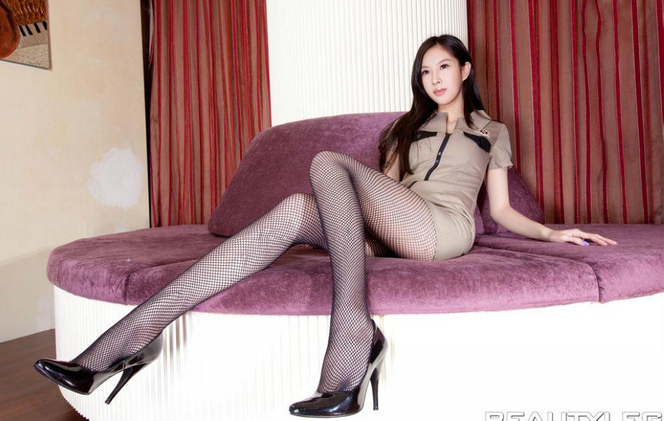 美女腿模elaine