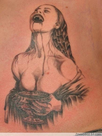 昆明纹身11________吸血鬼素材图片