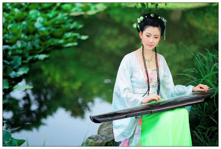 古典美女>的照片 蓝樱仙子的百度相册