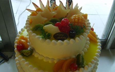 12寸双层欧式蛋糕图片