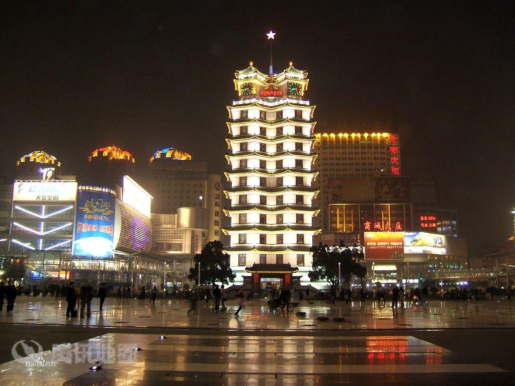 郑州地标:二七塔