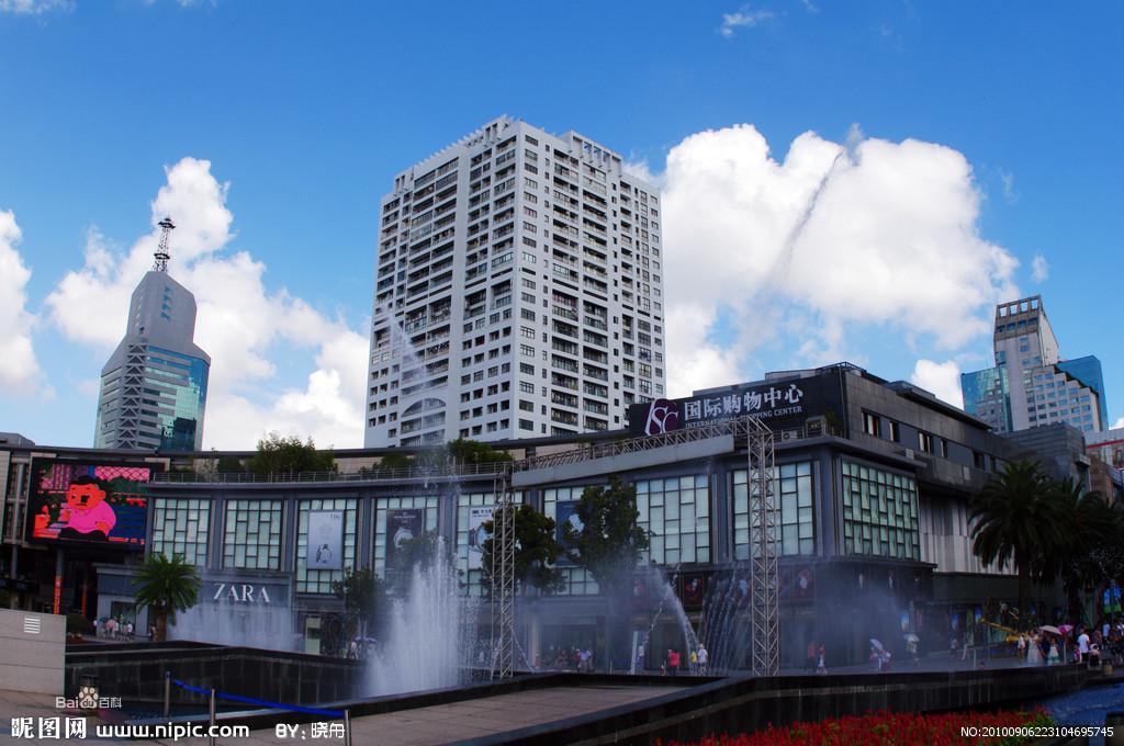 总投资14亿元的天一广场位于宁波市中心繁华商业街图片
