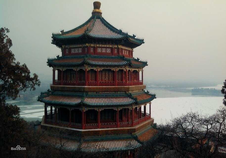 颐和园风景