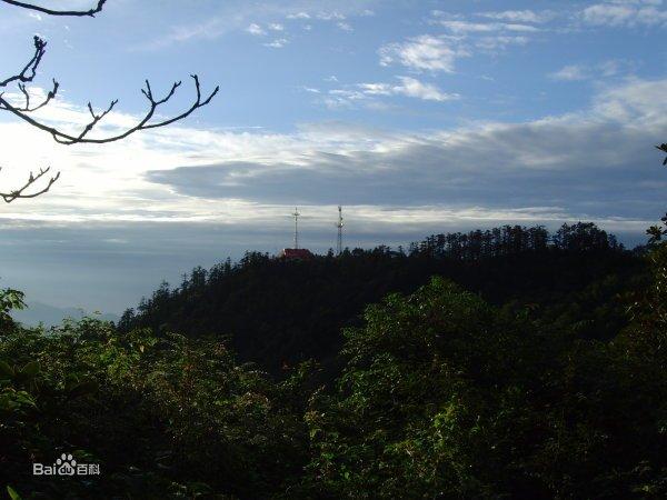 山顶日月坪接待站
