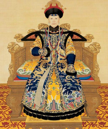 清朝皇后图片
