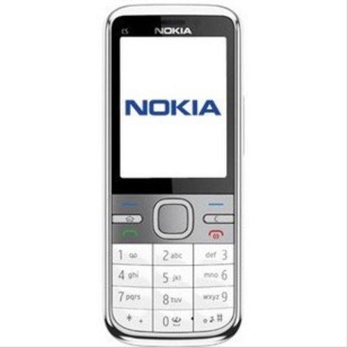 诺基亚c5是首款c系列的手机,采用了直板的造型.这款手机配备2.图片