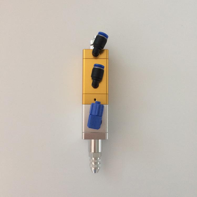 用电磁阀气动气缸运动,从而驱动中心杆上下运动,利用中心杆的上下运动图片