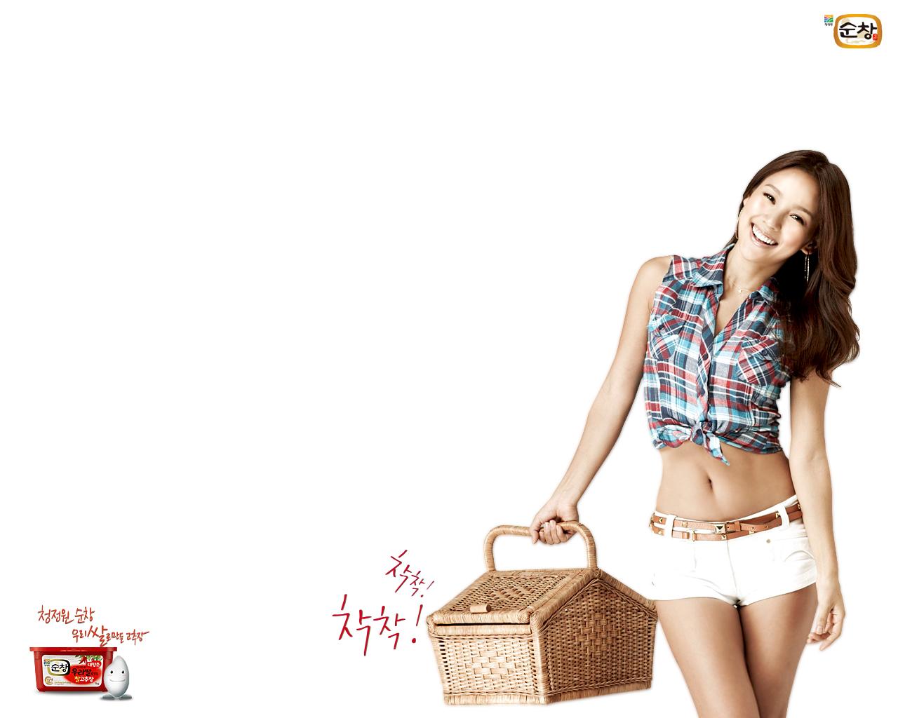 游戏壁纸下载,韩国性感女星李孝利精美桌面壁纸第二高清图片