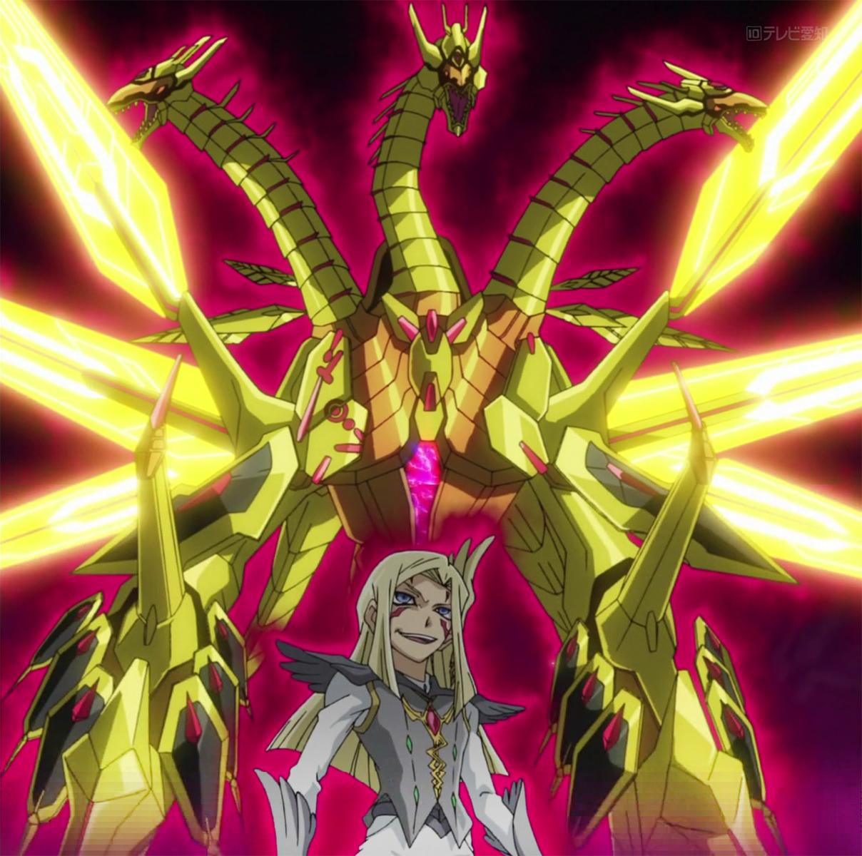 动画《游戏王zexal》中异晶人七皇之一的麦扎艾尔使用的号数超百「cno