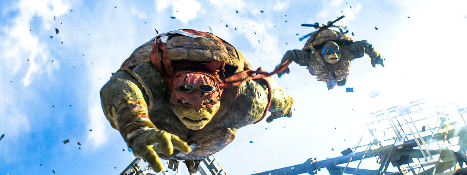 忍者神龟2高清1080P电影3D资源分享震撼来袭