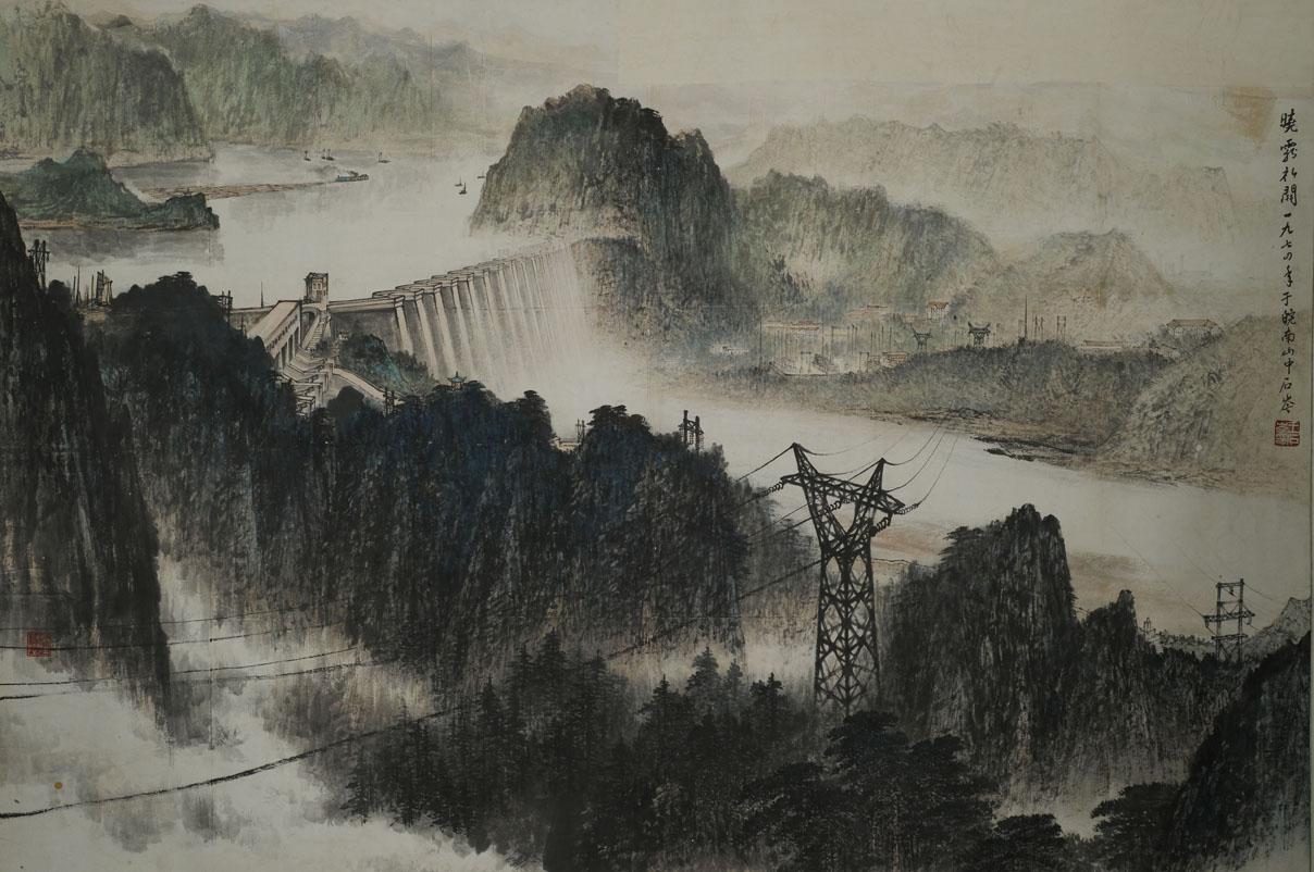 安徽合肥人.擅长中国山水画.图片
