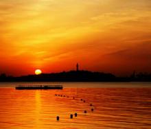 日落烟台山