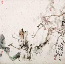 根成,1951年生,当代著名人物画家,2005年定居北京,系国务院颁发的有图片