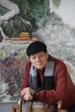 中国著名画家赵准旺近照