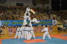 跆拳道特技表演