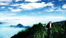 俯瞰井冈山