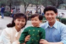 李云迪与家人