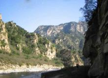 云蒙峡风景区仙境美景