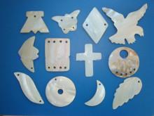 贝壳加工品展示