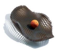 通过对生物表面肌理与质感的设计创造,增强仿生设计产品形态的功能图片