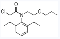 丙草胺结构式