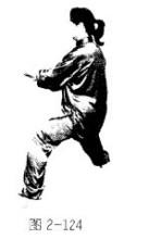 闪通背是陈氏太极拳基本招式之一.陈氏太极拳老架一路第二十三式.图片