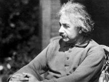 爱因斯坦的照片