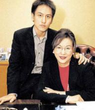 汤珈铖和他妈妈