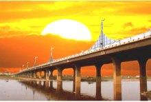 咸阳渭河三号大桥