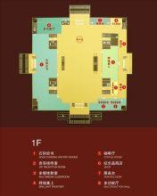 宁夏博物馆1-3楼平面示意图