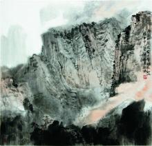 陈福春山水作品