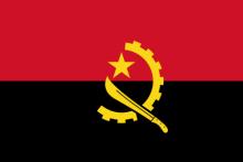 安哥拉历代国旗