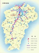 江西交通分布图