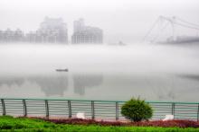 柳州平流雾奇观
