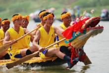 端午节-划龙舟