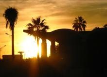 马拉喀什的日落