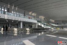 即将通车的湘潭火车站
