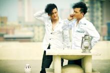 天孪兄弟2010年宣传照