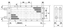 GL型散热器结构图