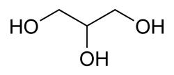 丙三醇键线式