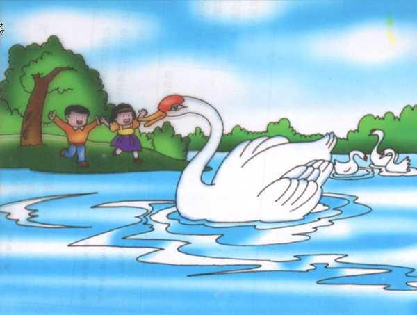 丑小鸭初中教学古诗视频图片