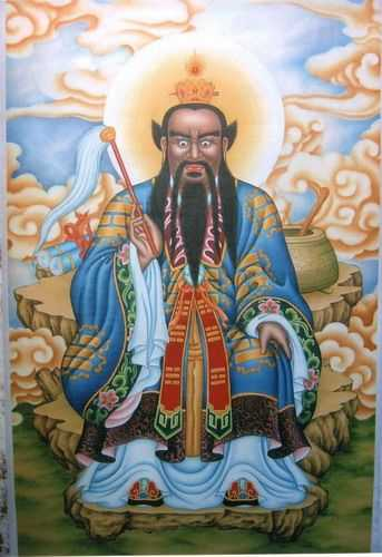 张天师携王长,赵升二位弟子和黄帝九鼎丹经,来到北邙山修行,平定了图片