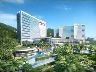 南平雅阁大酒店总投资额5亿,预计2015年正式对外营业,建筑面积为4.