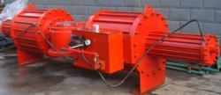 主要生产销售气动执行器(gt,at,aw),直行程气缸,气动球阀,气动蝶阀图片