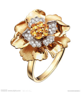 彩金就是k金添加某种贵金属变成不同的颜色.